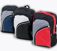 Deluxe Backpack with 2 Front Pockets