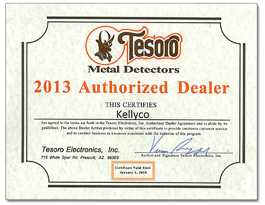 2013 Authorized Dealer Award