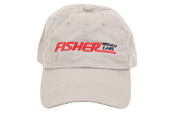 Fisher Embroidered Cap Metal Detector