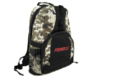 Fisher Camouflage Backpack