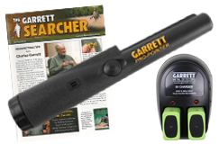 Garrett Pro-pointer Pinpointer Kit by Kellyco Metal Detectors