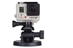 GoPro Suction Cup Mount Metal Detector