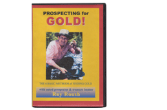 Kellyco Prospecting for Gold by Roy Roush DVD