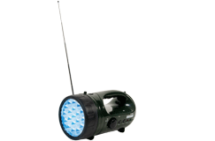 Kellyco Rechargeable Handy Light with FM Radio and 19 Bright LEDs