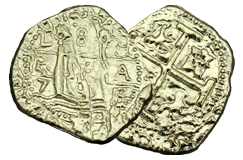 Kellyco Spanish 2 Reale Treasure Coin Replica