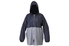 Kellyco Lightweight All-Weather Blue/Gray Rain Jacket