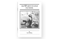 Kellyco The $3 How To Gold Pan Book by Sam Radding