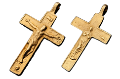 Kellyco Small Gold Religious (Crucifix) Replica