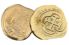 Kellyco Gold Treasure Coin Replica
