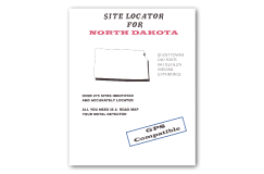 Kellyco Site Locator For North Dakota GPS Compatible