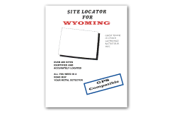 Kellyco Site Locator For Wyoming GPS Compatible