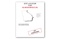 Kellyco Site Locator For Georgia GPS Compatible
