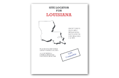 Kellyco Site Locator For Louisiana GPS Compatible