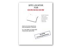 Kellyco Site Locator For Oregon GPS Compatible