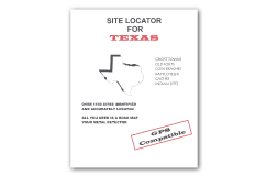 Kellyco Site Locator For Texas GPS Compatible