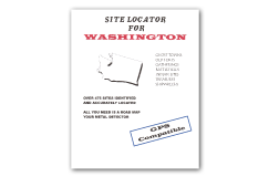 Kellyco Site Locator For Washington GPS Compatible