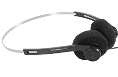 "Kellyco Deluxe Mini Pro Headphones with 1/4"" Adapter"