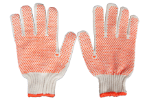 Kellyco Pro Orange Dot Gloves One Sided