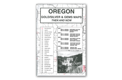 Kellyco Oregon Gold / Silver & Gems Maps
