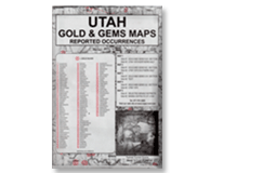 Kellyco Utah: Gold & Gems Maps