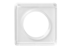 "Kellyco Half Dollar 2x2"" Plastic Holder"