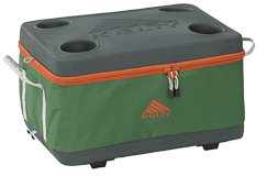 Kelty Folding Cooler Forest Green (Small)