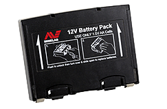 Minelab Black Alkaline Battery Pack (Musketeer Advantage)