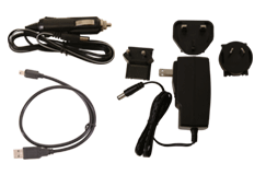 Minelab CTX 3030 Kit, Acc. WD Charger Cables & Plug Pack