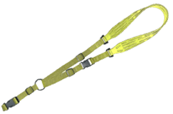 SVL Yellow Comfort Tech Metal Detector Sling