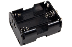Tesoro 6 AA Cell Battery Holder