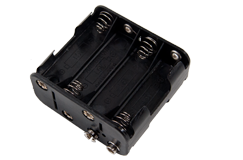 Tesoro 8 AA Cell Battery Holder Short