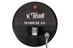 "Tesoro 5.75"" Round Widescan Search Coil with Short Cable & Coil Cover (4 Pin)"
