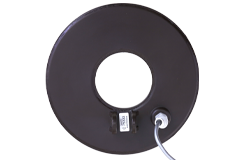 "Tesoro 8"" Round Concentric Search Coil with Short Cable (5 Pin, Brown)"