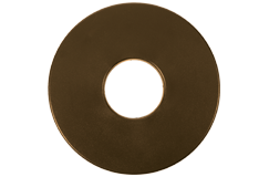 "Tesoro 8"" Round Coil Cover (Brown)"