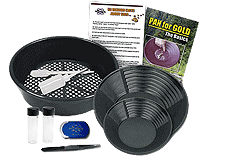 White's Deluxe Gold Panning Kit