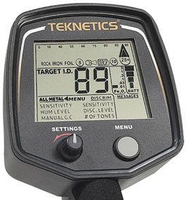 Teknetics T2 limited metal detector Face image