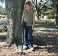 kids metal detecting