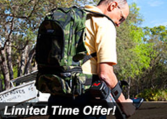 Heavy Duty Camo Extreme Backpack