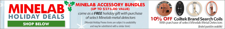 Minelab Holiday Bundles