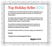 Top Amazon.com Holiday Seller