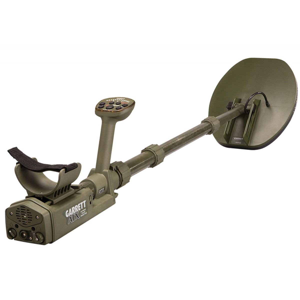 Garrett Atx Extreme Pi 11x13 Mono Coil Metal Detector Kellyco Pulse Induction Circuit As Well