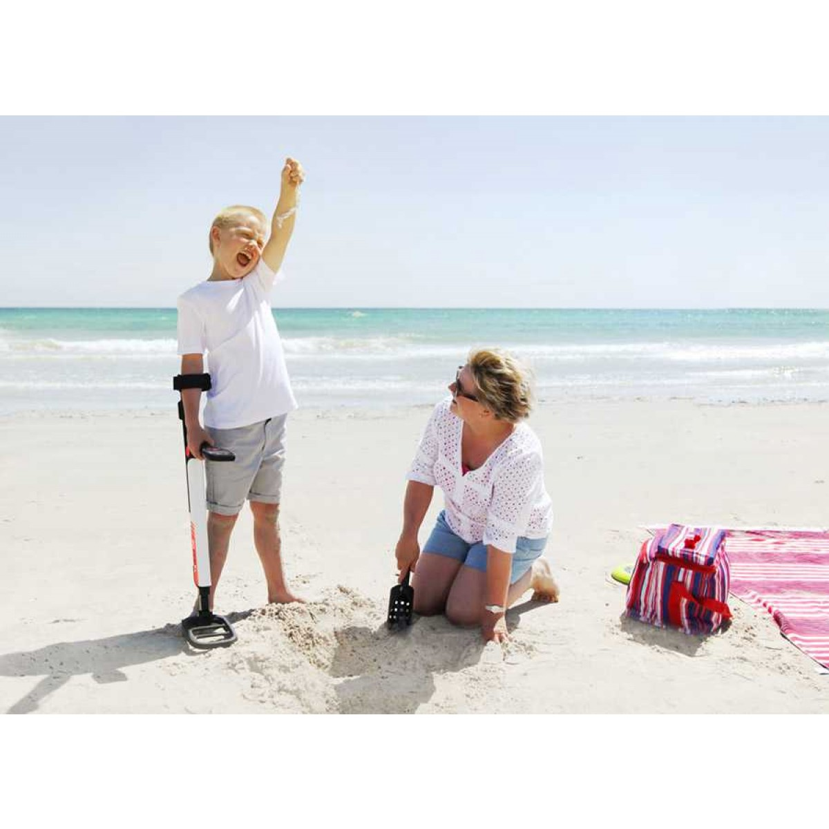 Minelab Go Find 20 Metal Detector Kellyco Fun To Findcoins At The Beach 32310001 Image 4
