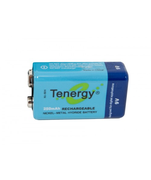 Kellyco 250 mAh 9V Rechargeable Ni-MH Battery 6035 Image 1