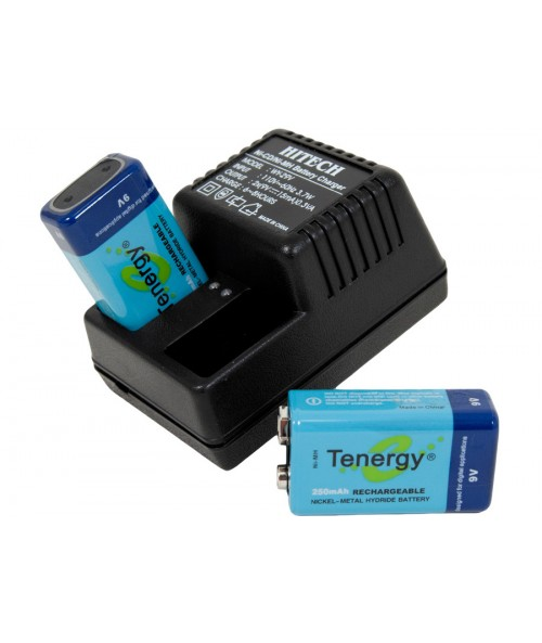 Kellyco 9V Pro Series Rechargeable Battery System RS9V Image 1