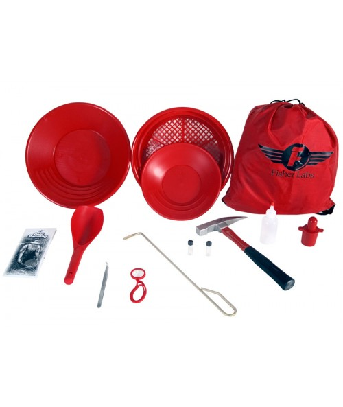 Fisher Hardrock Pro Gold Prospecting Kit GOLDKIT3 Image 1