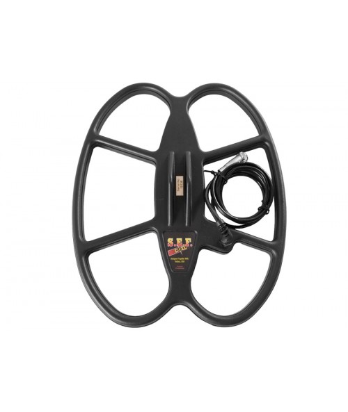 """Detech 15x12"""" SEF Butterfly Search Coil with Short Cable (Tesoro 5 Pin) 15X12TEDC Image 1"""