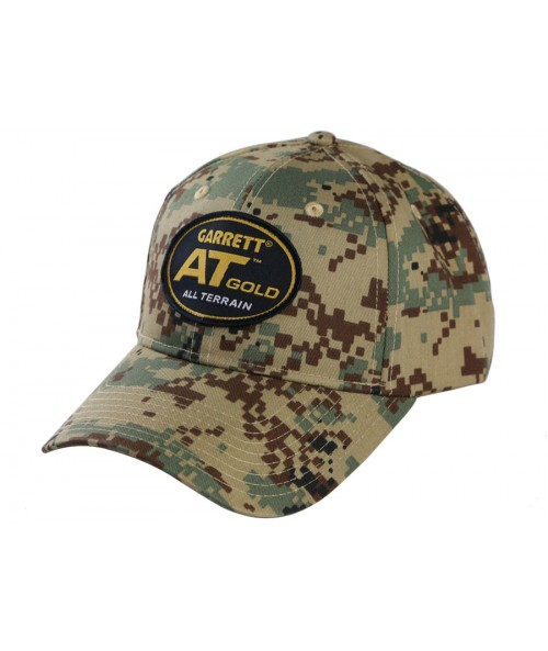 Garrett AT Gold Camo Cap 1664100 Image 1