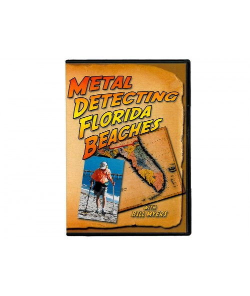 Kellyco Metal Detecting Florida Beaches DVD MDFBW01 Image 1