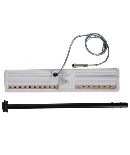 "Tesoro 3x18"" Widescan Search Coil with Long Cable, Lower Pole, & Coil Cover (5 Pin) C3X18WLWLITE Image 1"