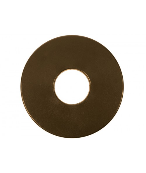 "Tesoro 8"" Round Coil Cover (Brown) S8RB Image 1"